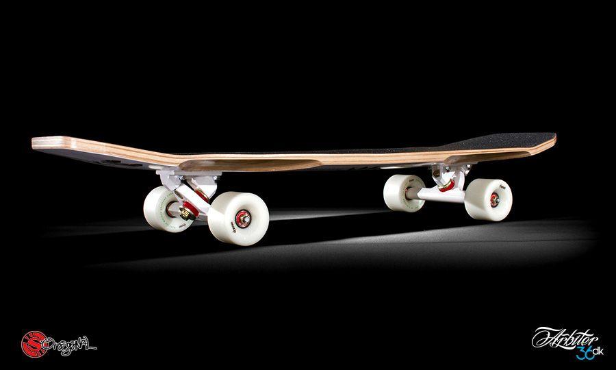Ubrugte The Arbiter DK 8 Ply Longboard by Original Skateboards RH-07