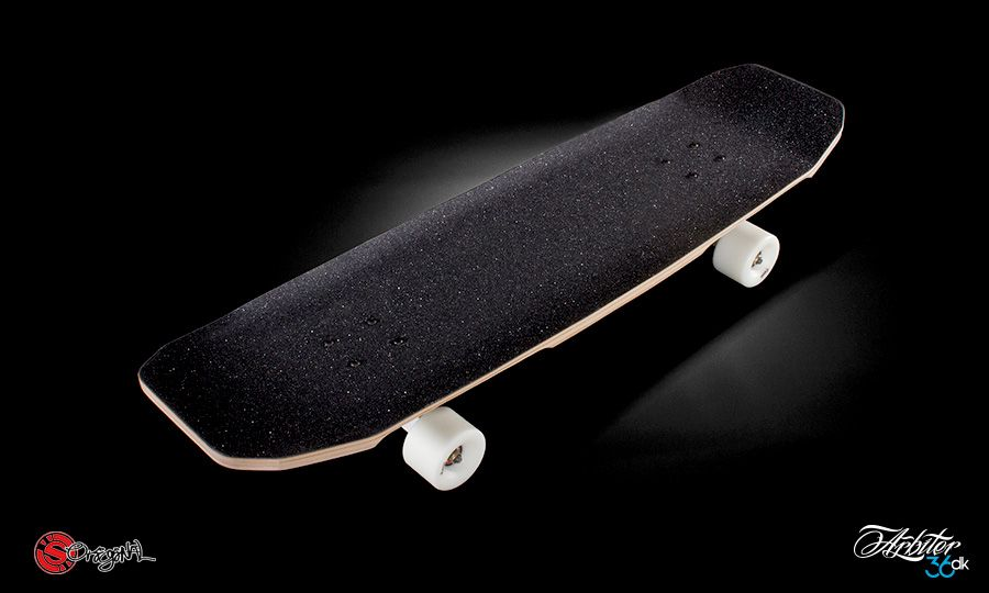 Fabriksnye The Arbiter DK 8 Ply Longboard by Original Skateboards RC-89