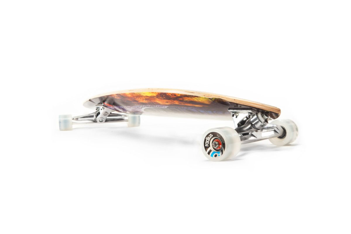 The Pintail 46 Longboard by Original Skateboards