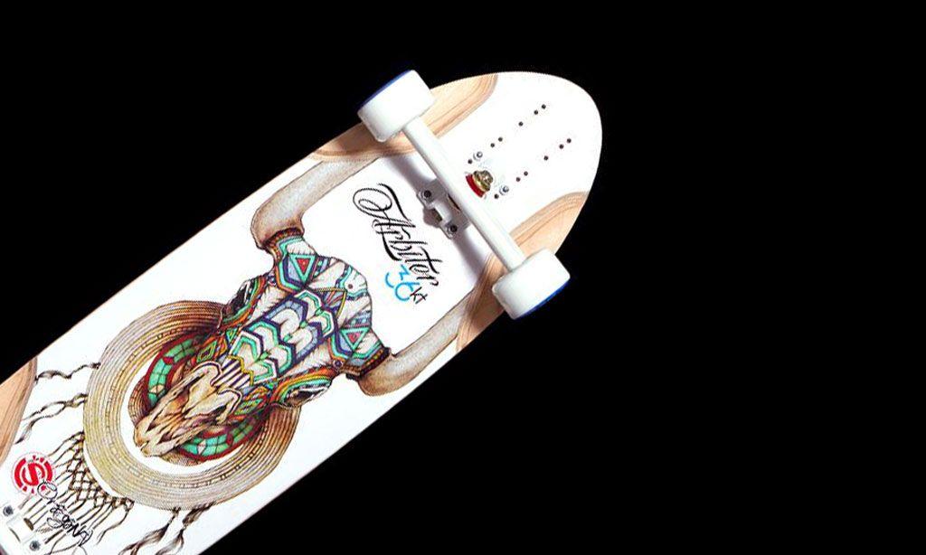 The Arbiter KT Longboard Skateboard by Original Skateboards